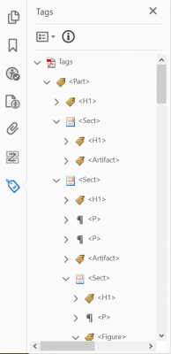 edit heading tags in the tag tree