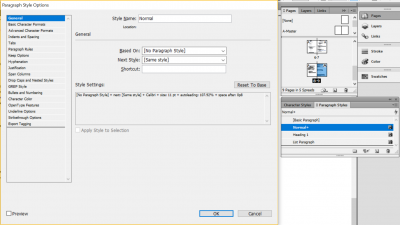redefine styles to change all text with specific formatting