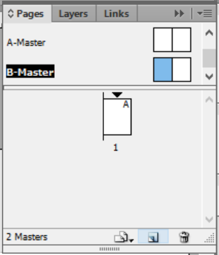 create a new master page