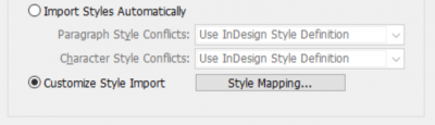 set styles using style mapping